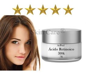 Acido Retinóico 30% Puro + Clareador Intimo 30g + Sabonete