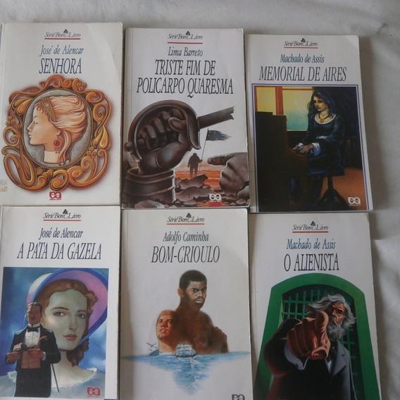 Lote 6 Livros Série Bom Livro Seminovos