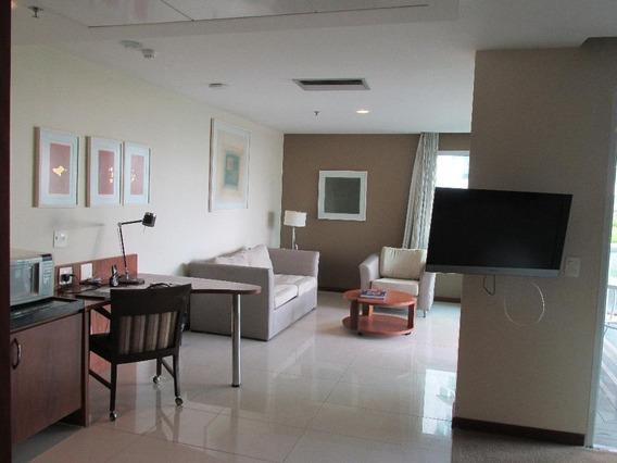 Hotel Em Barra Da Tijuca, Rio De Janeiro/rj De 53m² 1 Quartos À Venda Por R$ 700.000,00 - Ho215480