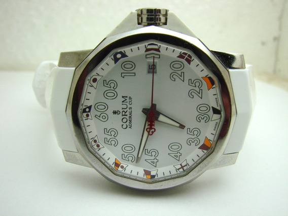 Reloj Corum Admiral Cup Competition, 40 Mm Blanco