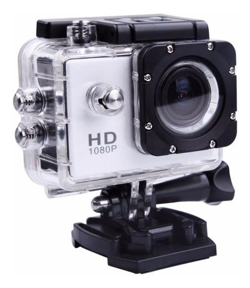 Câmera Digital Sports Hd Tela Lcd Case A Prova D