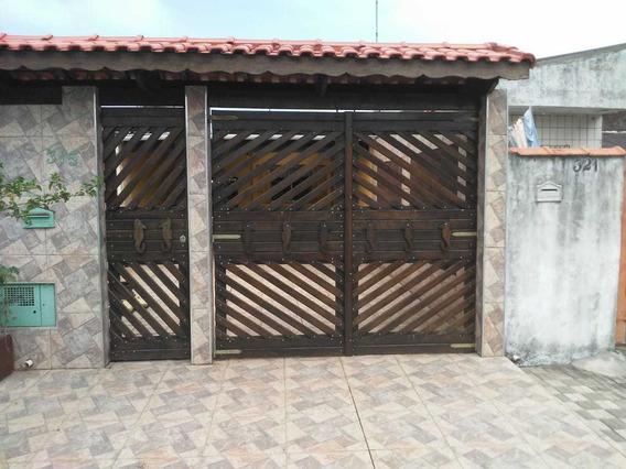 Casa Em Mongaguá Lado Morro 1 Quarto,4 Vagas De Garagem 869