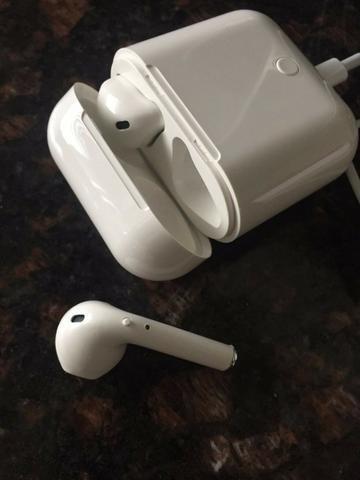 Fone Bluetooth Com Cabo Usb Wireless Com Microfone I7s