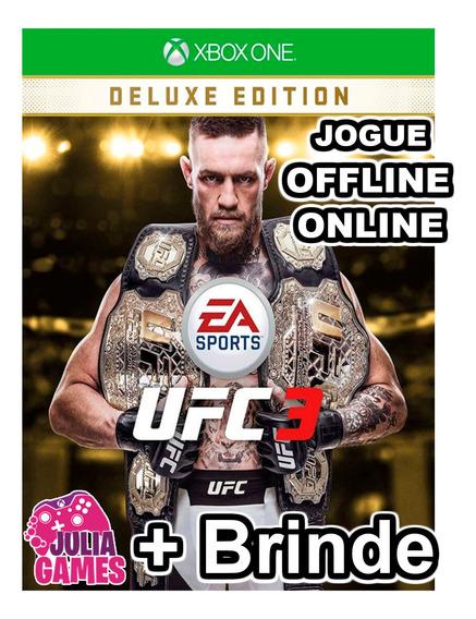 Ufc 3 Deluxe Edition Xbox One Digital + 1 Jogo De Brinde