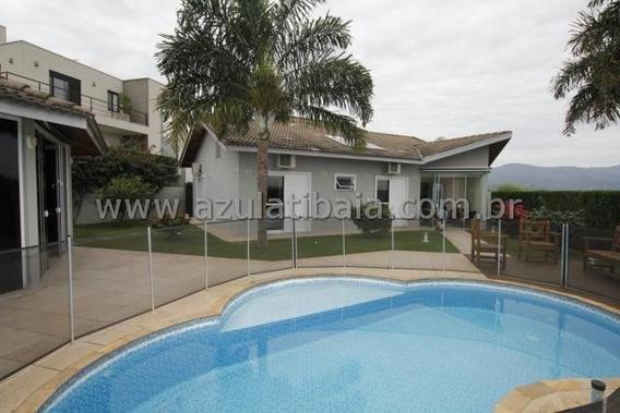 Casa Em Condomínio, Atibaia, Ótimo Projeto 800m De Terreno - Ca00389 - 33977133
