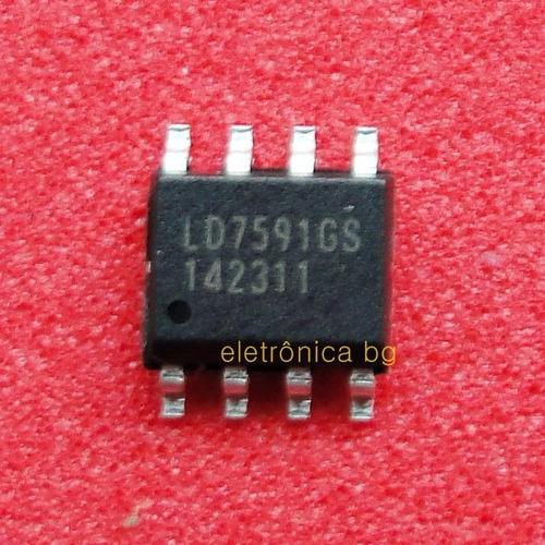 Ci Ld7591 Smd  Ld 7591 Gs  Ld7591gs Original Kit 2 Peças