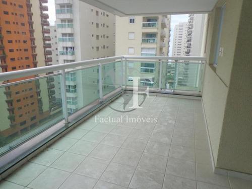 Apartamento Residencial À Venda, Barra Funda, Guarujá. - Ap1465