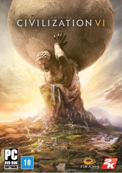 Civilization Vi 6 Steam Original Online Key Estratégia Digital É Multijogador Multijogador Jogos Firaxis Games