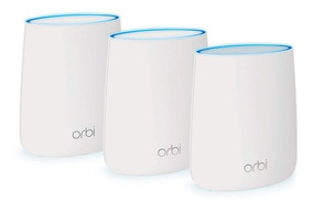 Orbi Tri-band Wifi System Router Coverage Up To 7,500 Rbk53