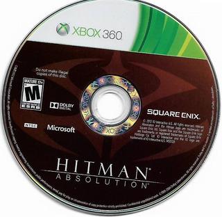 Hitman - Absolution Para Xbox 360 - Disco