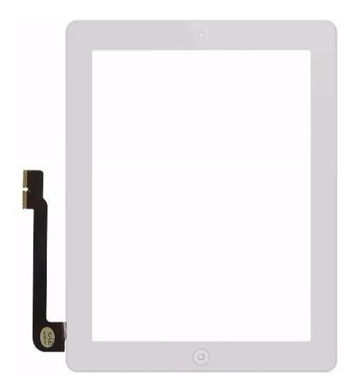Tela Touch Vidro Lente iPad 4 A1458 A1459 A1460 Branco