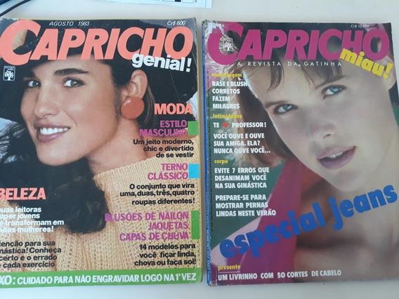 Lote Com 13 Revistas Capricho Anos 80