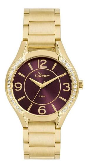 Relógio Condor Feminino Eterna Bracelete - Co2035krg/4g