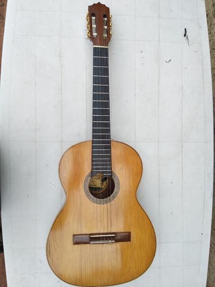 Guitarra Clásica Con Pre Artec (piezo+condenser) De Luthier