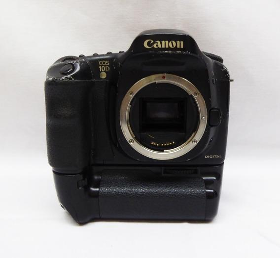 Camera Fotografica Canon Eos 10d Sem Lente - Leia Descricao