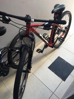 Bicicleta Montain Bike Khs... Com Pouco Tempo De Uso!