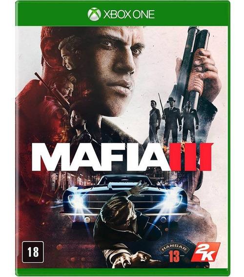 Mafia Iii 3 Xbox One Mídia Física Português Novo Lacrado