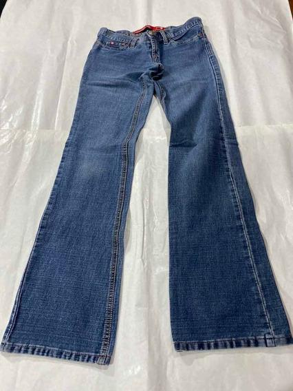 Pantalón Jeans Taverniti Dama T 36 Usado