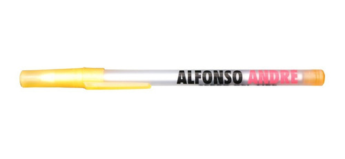 5 Bolígrafos Alfonso André