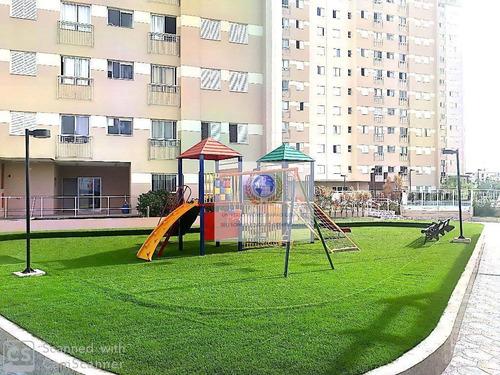 Apartamento Com 2 Dormitórios À Venda, 46 M² Por R$ 285.000,00 - Chácara Das Nações - Valinhos/sp - Ap0503