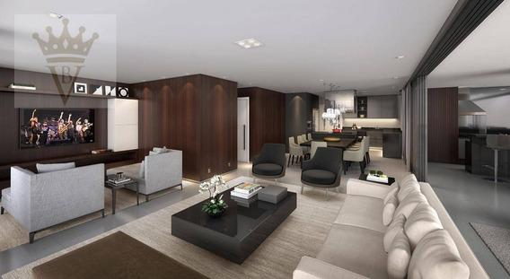 Apartamento Com 4 Dormitórios À Venda, 248 M² Por R$ 6.052.000 - Vila Nova Conceição - São Paulo/sp - Ap2572