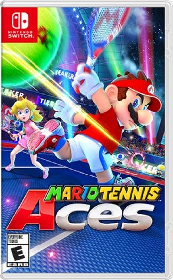 Mario Tennis Aces Switch Mídia Física Pronta Entrega