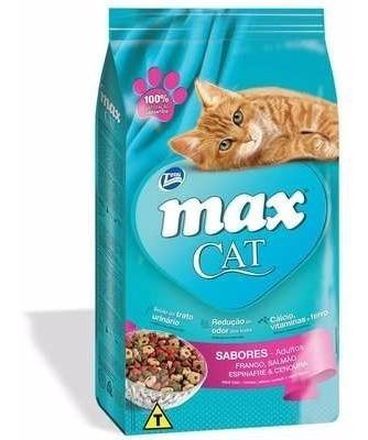 Ração Max Cat Sabores Para Gatos 20 Kg