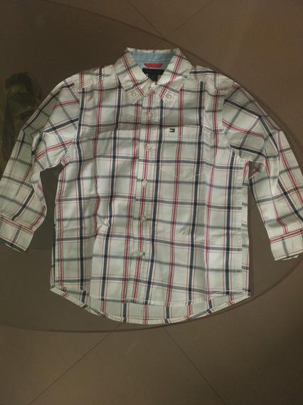 Camisa Original Tommy Hilfiger De Bebé Talla 2