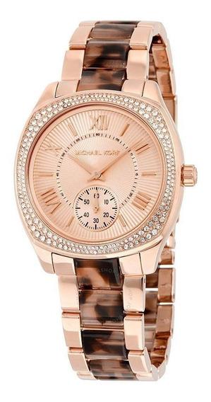 Relógio Michael Kors Feminino Rosé - Mk6276/4tn