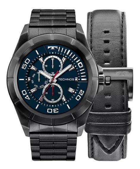 Relógio Technos Masculino Connect Srac/4p 2 Pulseiras