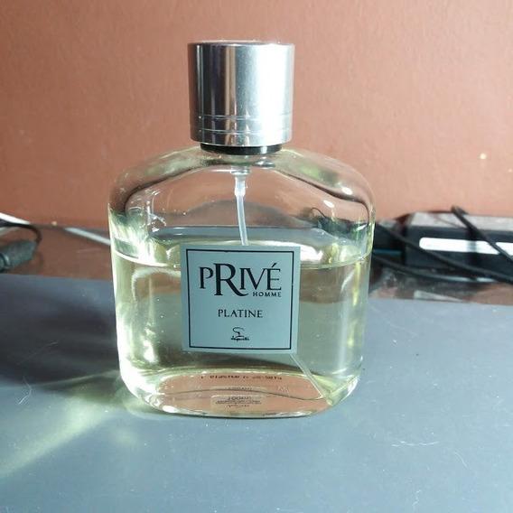 Perfume Jequiti Privé Homme Platine 65/100ml Edt