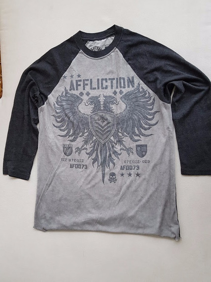 Camiseta Blusa Affliction Manga Longa Original Importada