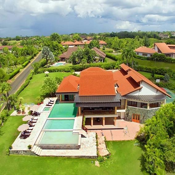 Extraordinaria Villa, En Casa De Campo, La Romana