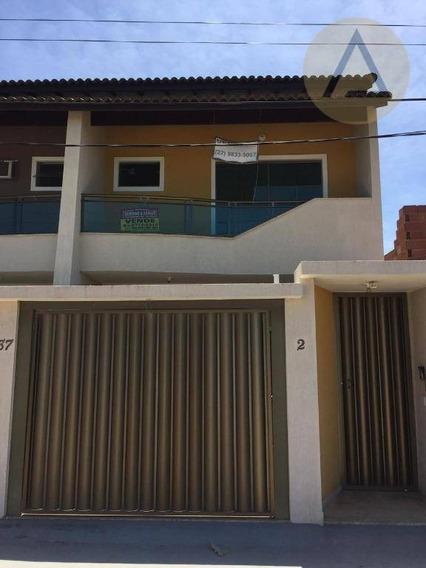 Casa Com 3 Dormitórios À Venda, 142 M² Por R$ 285.000 - Ajuda - Macaé/rj - Ca0830