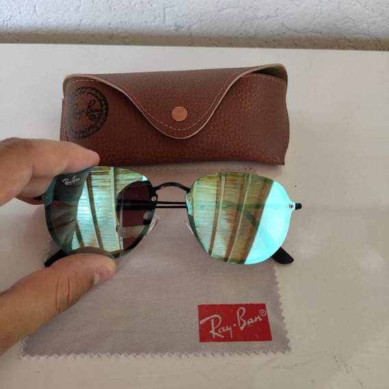 Óculos De Sol Rayban Blaze Hexagonal