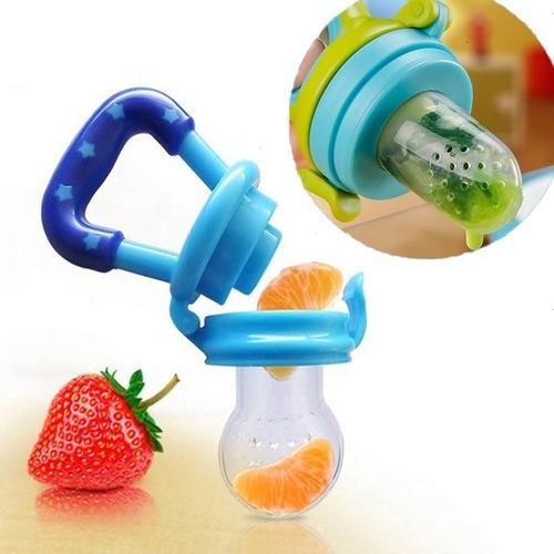 Imagen 1 de 8 de Chupete Alimentador Mordedor Frutas Alimentos Frescos