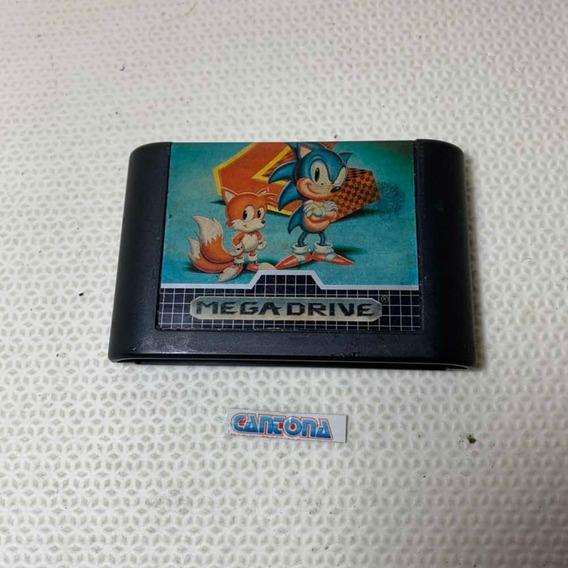 Sonic 2 Tec Toy Original Mega Drive