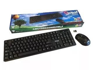 Kit Teclado Y Mouse Inalambricos Global Electronics