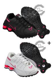 Tenis Sxhox Nike Nz 4 Molas Original Kit 2 Pares Promoção