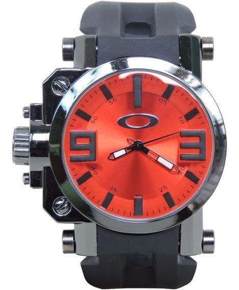 Relógio Oakley Gearbox Titanium Á Prova D