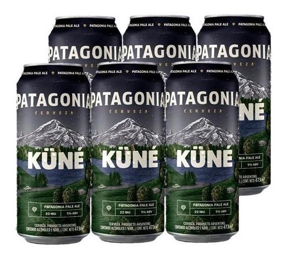 Cerveza Patagonia Küné 473 Ml X6
