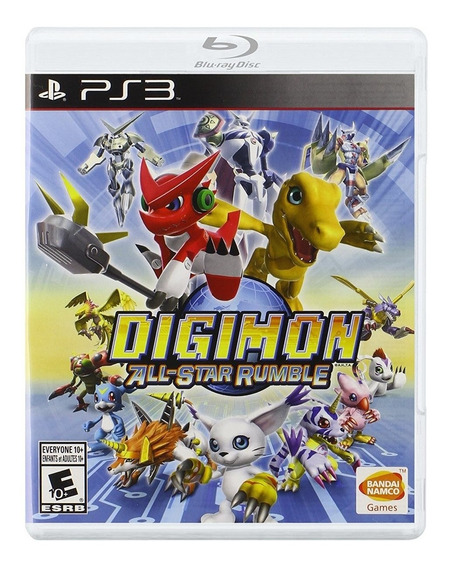 Digimon All-star Rumble Ps3 Mídia Física Lacrado