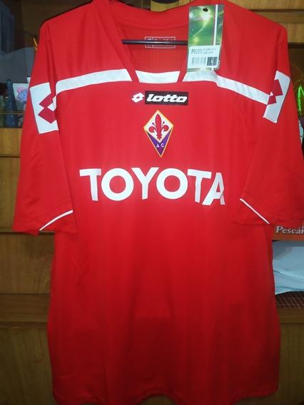 Camiseta Lotto De La Fiorentina! Talle M #6 Vargas