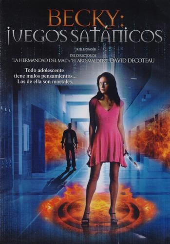 Imagen 1 de 3 de Becky Juegos Satanicos Pelicula Dvd