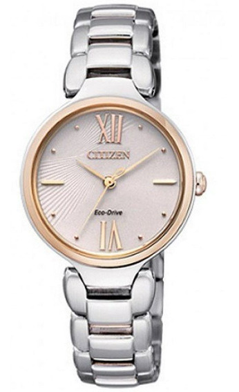 Reloj Citizen Eco-drive Em0024-51w Mujer Collection