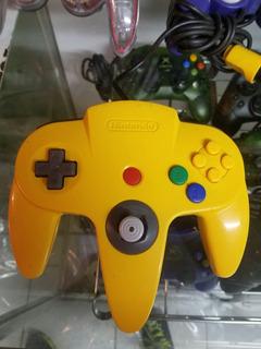 Control Oficial De Nintendo 64 Amarillo