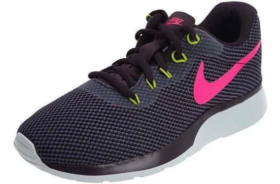 Tenis Para Mujer Nike Tanjun Racer Entrenamiento Morado Run