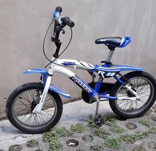 Bicicleta Nene Raleigh Con Casco De Regalo. Impecable