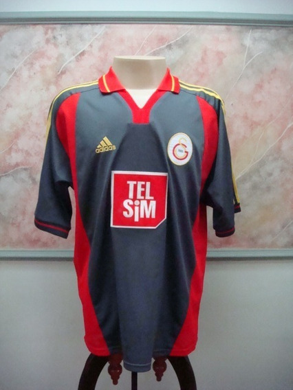 Camisa Futebol Galatasaray Turquia adidas Jogo Jardel 2272
