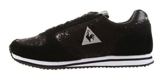Zapatillas Le Coq Sportif Bolivar Glam Niñas Negro (7613)